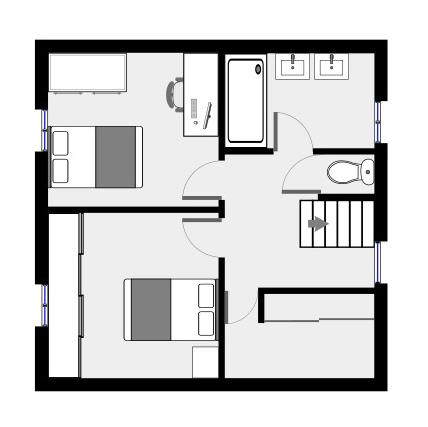 visite virtuelle. Black Bedroom Furniture Sets. Home Design Ideas